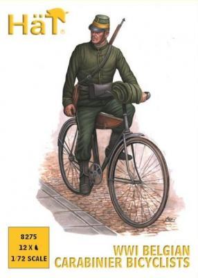 8275 - Chasseurs belges à vélo WW1 1/72