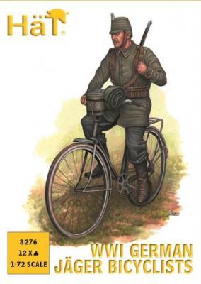 8276 - Chasseurs allemands à vélo WW1 1/72