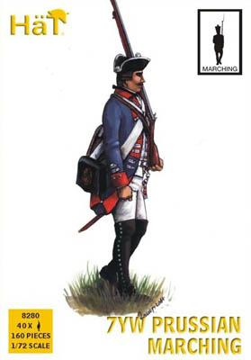 8280 - Infanterie prussienne (Marche) 7YW 1/72