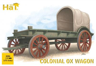 8286 - Colonial Ox drawn Wagon 1/72
