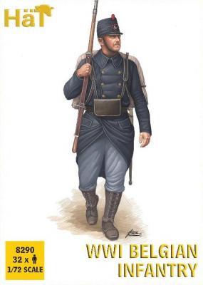 8290 - WWI Belgian Infantry 1/72