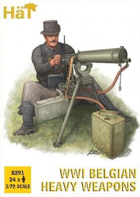 8291 - WWI Belgian Heavy Weapons 1/72