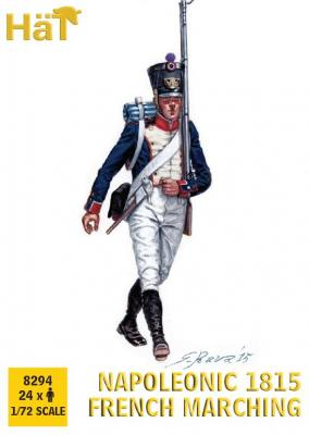 8294 - 1815 French Infantry Marching 1/72