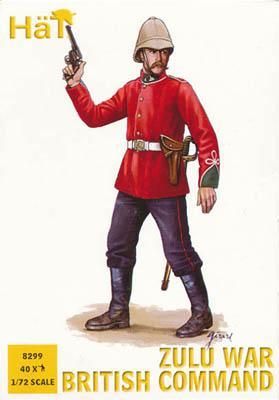 8299 - Commandement britannique guerre zouloue 1/72