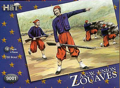9001 - American Civil War Zouaves