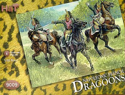 9009 - Napoleonic French Dragoons