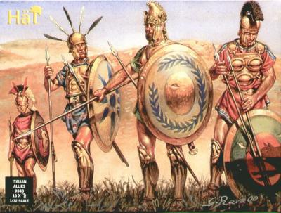 9040 - Italian Allies Infantry (Roman Period)