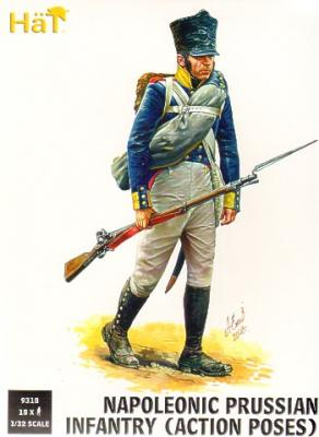 9318 - Prussian Infantry (Action poses)