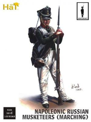 9320 - Russian Infantry Marching (Napoleonic Period)