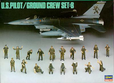 4805 - U.S.Pilot/Ground Crew Set B