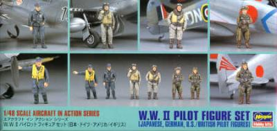 4807 - WWII Pilot figure set (18 figures)