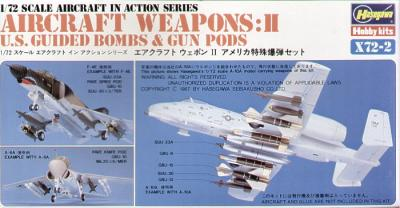 X7202 - Guided Bombs and Gun Pods 1/72