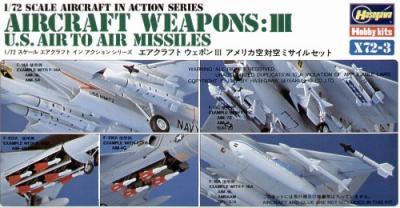 X7203 - Air to Air Missiles 1/72