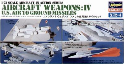 X7204 - Air to Ground Missiles 1/72
