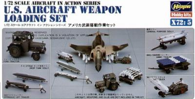 X7205 - Weapons Loading 1/72