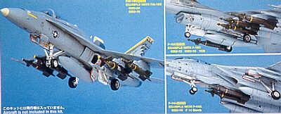 X7211 - US Aircraft weapons set VI 1/72