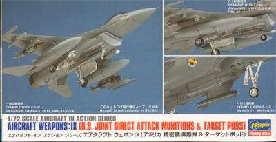 X7214 - Aircraft Weapons Set IX 1/72