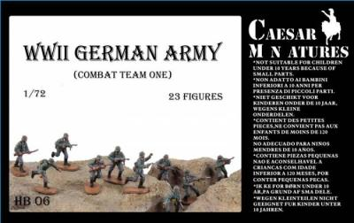 HB06 - German Army Combat Team 1 1/72