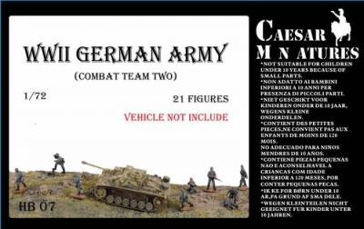 HB07 - German Army Combat Team 2 1/72