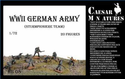 HB08 - German Army Sturmpioniere 1/72