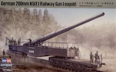 82903 - K5(E) Railway gun 280mm Leopold