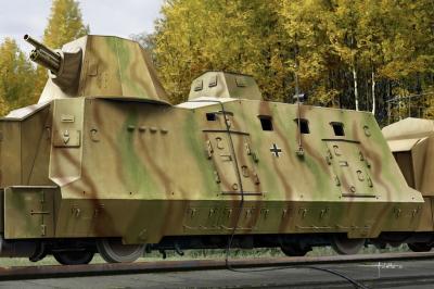 82923 - BP-42 Geschutzwagen