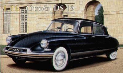 80795 - Citroen DS19 hardtop 1/16