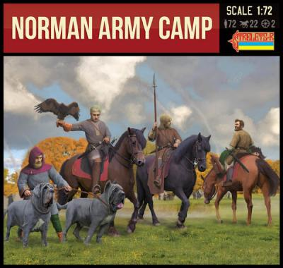 909 - Norman Army Camp 1/72
