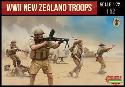M111 - WWII New Zealand Troops 1/72