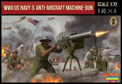 M112 - WWII US Navy & Anti-Aircraft Machine-Gun 1/72