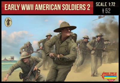 M113 - Early WWII American Soldiers 2 1/72