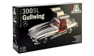 I3612 Mercedes Benz 300 SL Gull Wing 1/16