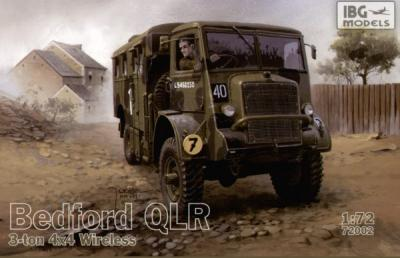 72002 - Bedford QLR 3 ton 4 x 4 Wireless version 1/72