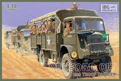 72003 - Bedford QLT 4x4 Troop Carrier 1/72