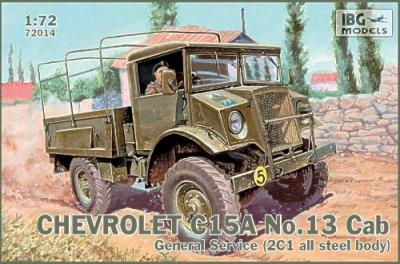 72014 - Chevrolet C15A No.Cab 13 General Service (2C1 all steel body) 1/72