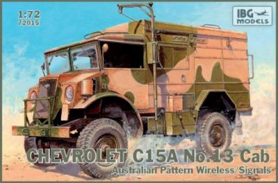 72015 - Chevrolet C15A No.Cab 13 Australian Pattern Wireless/Signals 1/72