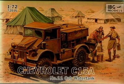 72016 - Chevrolet C15A No.11 Cab Watertank 1/72