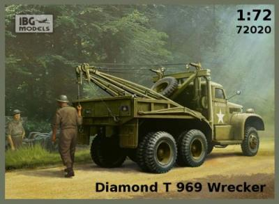 72020 - Diamond T 969 Wrecker 1/72
