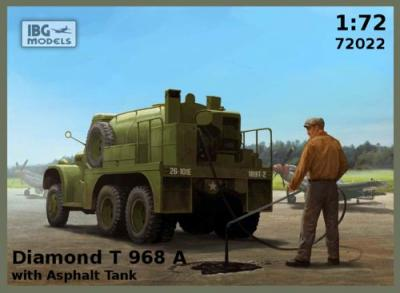 72022 - Diamond T 968A with Asphalt Tank 1/72