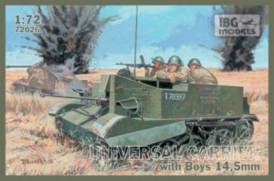 72026 - Universal Carrier with Boys 14.5 mm gun 1/72