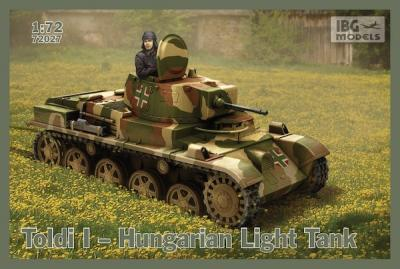 72027 - Toldi I Hungarian Light Tank 1/72