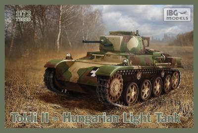 72028 - Toldi II Hungarian Light Tank 1/72