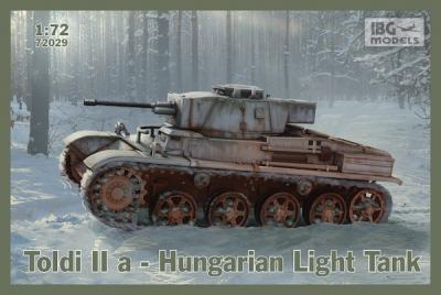 72029 - Toldi IIa Hungarian Light Tank 1/72
