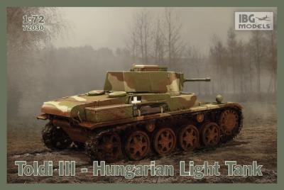 72030 - Toldi III Hungarian Light Tank 1/72