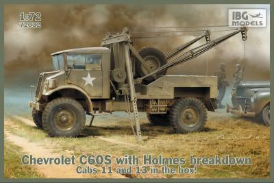 72032 - Chevrolet C60S with Holmes breakdown 1/72