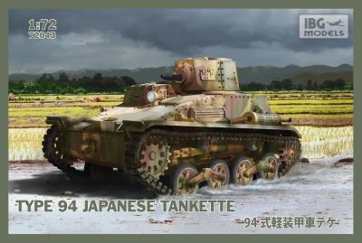 72043 - Type 94 Japanese tankette 1/72