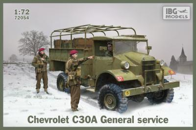72054 - Chevrolet C30A General service 1/72