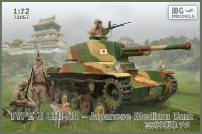 72057 - Type 3 Chi-Nu Japanese Medium Tank 1/72