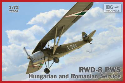 72504 - RWD-8 Hungarian and Romanian service 1/72