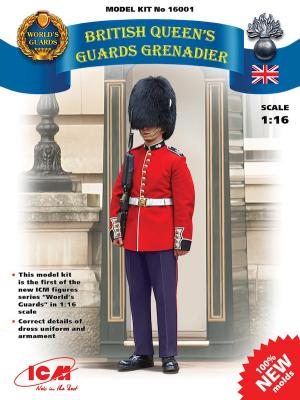 16001 - British Queen's Guards Grenadier 1/16